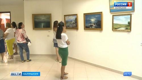 Произведения художников Калмыкии в Азовском музее