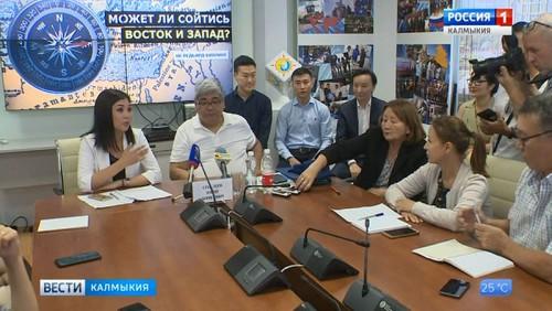 Состоялась пресс-конференция с Юрием Сенглеевым