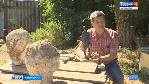 В Саратове открывается выставка калмыцкого скульптора