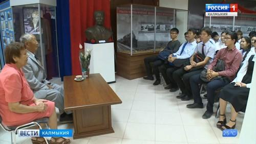 Состоялась встреча учащихся с ветераном труда