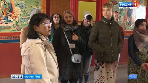Представители туроператоров обсуждают перспективы Калмыкии