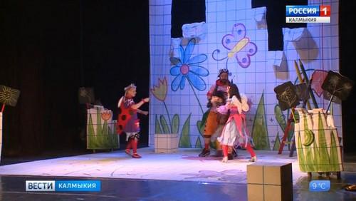 В Калмыкии появится детский театр
