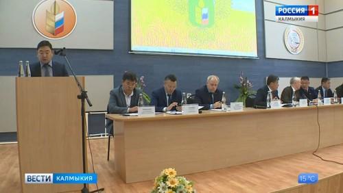 Бату Хасиков возглавит ассоциацию заводчиков калмыцкого скота