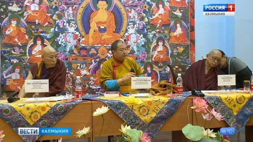 В Калмыкии с визитом находится учитель Лама Сопа Ринпоче