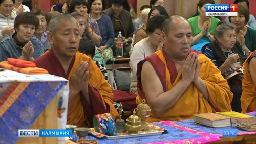 В Центральном хуруле состоялось посвящение Будды Сострадания