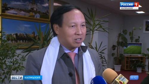 В Калмыкию прибыл посол Вьетнама