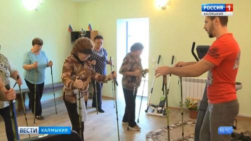 Жители села Приютное приобщаются к здоровому образу жизни
