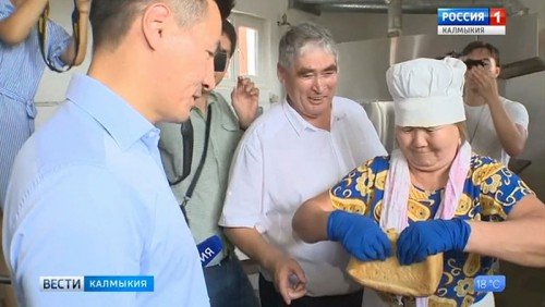 В Калмыкии отмечают всемирный День хлеба