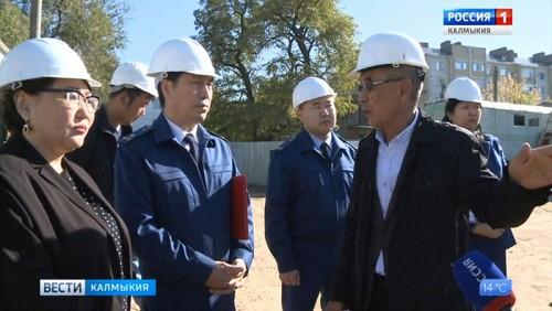 Прокуратура Калмыкии мониторит ход строительства