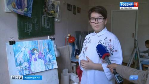 Школьница из Калмыкии прошла в финал конкурса «Уникум»