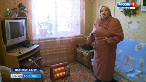 Жители села Троицкое замерзают в своих квартирах
