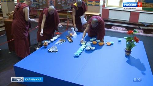 В Центральном хуруле возведут мандалу Манджушри