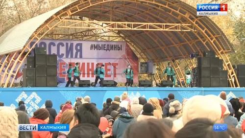 Элиста отметила День народного единства