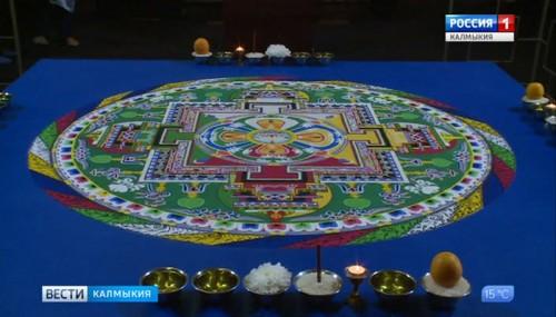 В Центральном хуруле можно созерцать мандалу Манджушри