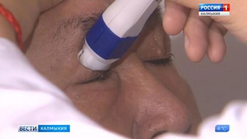 Калмыцкие хирурги проводят сложные операции по возвращению зрения