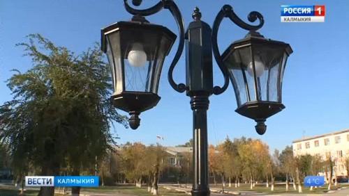 В Приютном завершается благоустройство Центральной площади