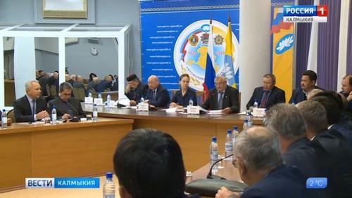 Сегодня в Элисте состоялось заседание Совета Старейшин