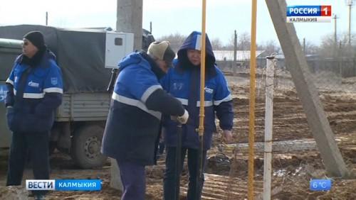 В будущем году завершится строительство межпоселкового газопровода