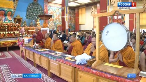 Глава буддистов Калмыкии прочитает лекции в Санкт-Петербурге
