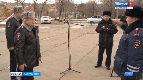 В дорожно-патрульную службу МВД Калмыкии поступил спецтранспорт