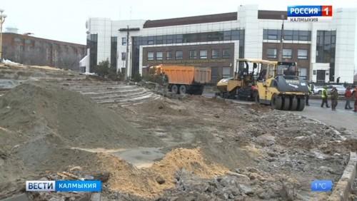 В Элисте появится сквер имени Оки Ивановича Городовикова