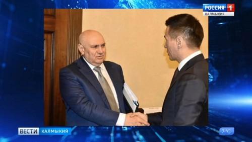 Дмитрий Патрушев отметил успехи Калмыкии