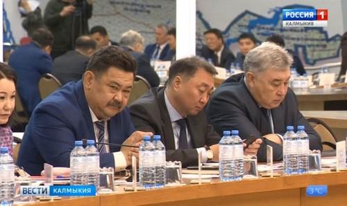 В правительстве Калмыкии обсудили проект Индивидуальной программы социально-экономического развития