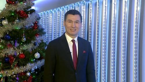 Новогоднее поздравление Главы Республики Калмыкия Бату Сергеевича Хасикова