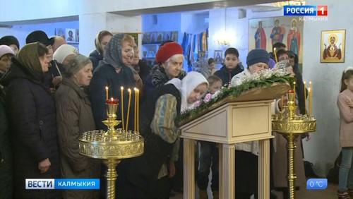 Мощи святой Анастасии отправятся в колонии Калмыкии