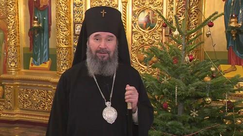 Поздравление с Рождеством верующих Калмыкии