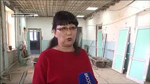 Капитальный ремонт Северной школы Лаганского района