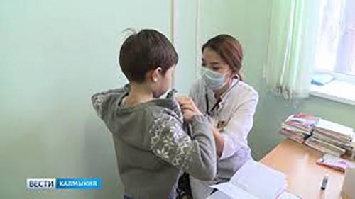 В Калмыкии у семи человек обнаружен свиной грипп