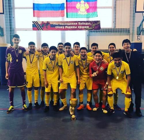 Калмыцкие футболисты стали победителями Первенства Южного и Северокавказского федеральных округов по мини-футболу