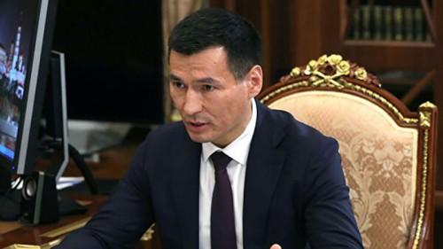 Глава Калмыкии принял участие в совещании Республиканской службы финансово-бюджетного контроля