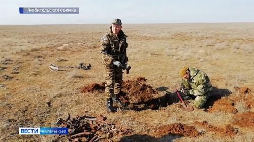В Калмыкии обнаружены обломки самолета времен войны