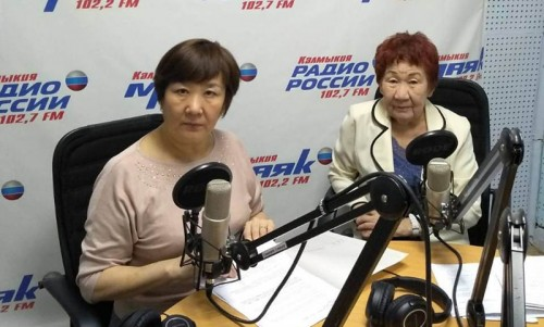 Сегодня Радио Калмыкии посетила заместитель председателя «Союза женщин Калмыкии» — Данара Эсклянова