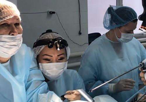 Калмыцкие гинекологи освоили новый вид хирургического лечения