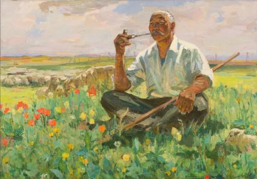 От рождения автономии до сегодняшних дней. В Москве откроется передвижная художественная выставка «И друг степей калмык»