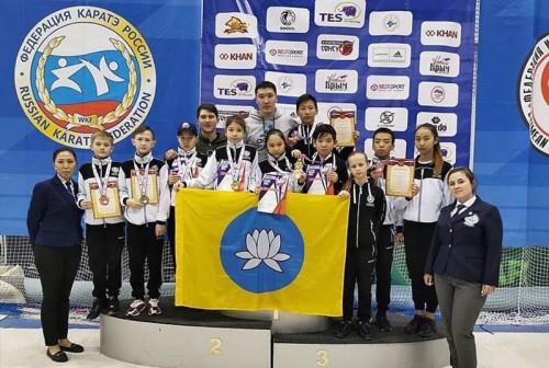 В копилке Федерации Каратэ Калмыкии ещё 15 медалей