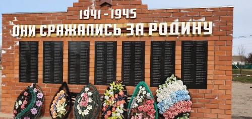 Поселок Шарнут – памятное место боевой славы Калмыкии
