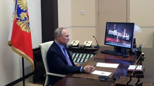 Владимир Путин провёл совещание-телеконференцию по ситуации с коронавирусом