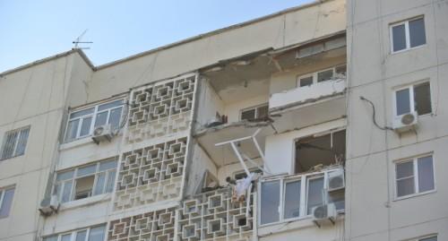 Экспертиза признала поврежденные подъезды жилого дома не подлежащими к восстановлению