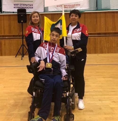 Спортсмены-паралимпийцы привезли домой медали высшего достоинства