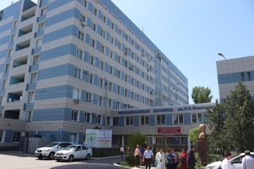 Два блока республиканской больницы введены в эксплуатацию после реконструкции