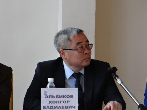 Хонгор Эльбиков освобождён от занимаемой должности