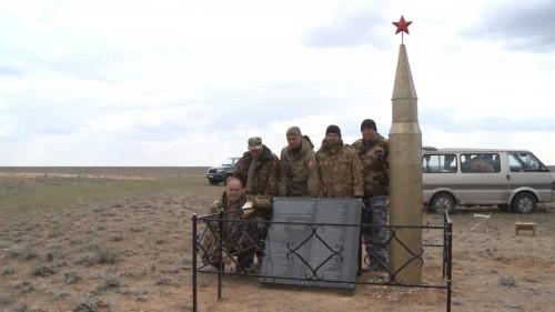 В Калмыкии установлен ещё один обелиск с именами красноармейцев, погибших на Яшкульской земле