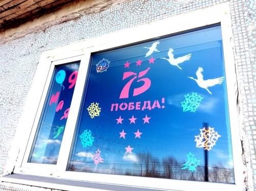 В стране проходит красочная акция «Окна Победы»