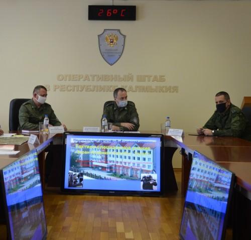В Калмыкии проводят учения по профилактике противодействия террористическим угрозам