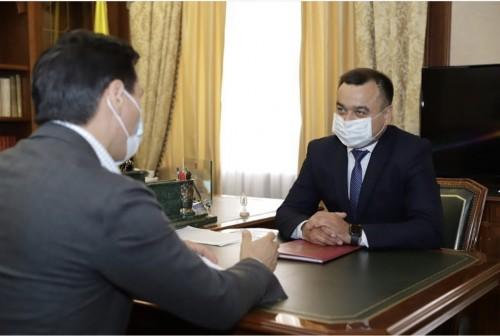 Глава Калмыкии провел рабочую встречу с начальником Управления ФСИН