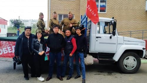 Калмыкия приняла участие во всех Всероссийских акциях к 75-летию Победы